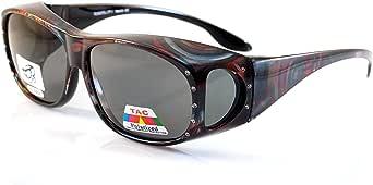 FBL 大型 Bling 偏光贴合眼镜 侧视图 P012