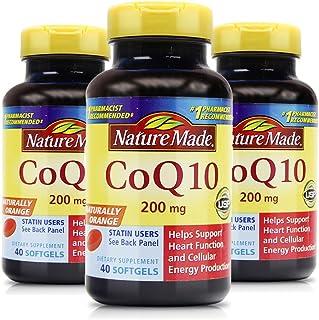 Nature Made 莱萃美 辅酶Q10软胶囊200mg 40粒 (3瓶)