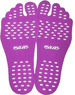 Solees] Go Barefoot 粘性鞋底垫 - 防滑,防水,适合室内外使用 - 一双