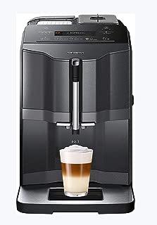 Siemens ti313219rw 獨立全自動濃縮咖啡機,1.4L 升 1tazas 黑色,銀色,咖啡色(自由式,濃縮咖啡機,黑色,銀色,馬克杯,紐扣,LCD)