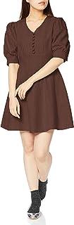 Lily Brown 气球袖连衣裙 LWFO201053 女士