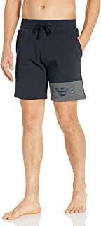 Emporio Armani 安普里奥·阿玛尼男式基本款法式厚绒布裤