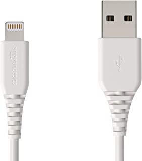 AmazonBasics 闪电转 USB-A 数据线 - GoodL6LMF085-CS-R 4 英寸 1包 白色