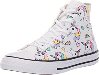 Converse 儿童 Chuck Taylor All Star Unicorn 印花高帮运动鞋