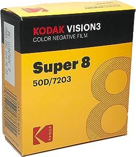 CODAK SUPER 8 彩色 VISION3 50D 7203/50英尺 墨盒