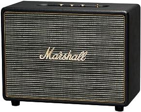Marshall 马歇尔 Woburn 旗舰HiFi摇滚重低音监听级无线蓝牙音箱 无线音响系统 黑色