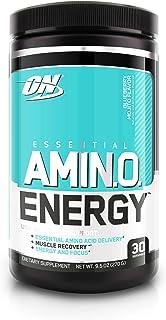 Optimum Nutrition 欧普特蒙 氨基酸能量, 蓝莓味, 含绿茶和生咖啡萃取物, 30份