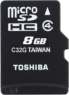 东芝高速 M102 Micro SDHC 8 GB 4 级闪存卡THN-M102K0080M2 8 GB