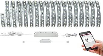 Paulmann 柏曼 70907 SmartHome MaxLED 500 LED 灯条基础套装 蓝牙 LED 灯条 10 米 灯条 53.5 W 灯带 2.700 K 暖白色