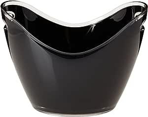 Prodyne G-4-BK Four Bottle Tub, Black