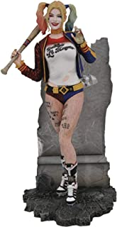 DIAMOND SELECT 玩具 DC 画廊:敢死队电影哈利·奎茵 PVC 公仔,多色