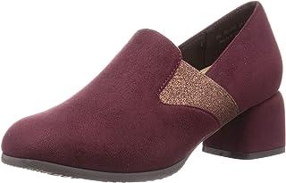 TEN 浅口鞋 TN1754_WIN-S_25 女士 酒红色绒面 25.0 cm 2_e