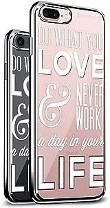 """奢华手机壳LUX-I6CRM-QWORK1 DO WHAT YOU LOVE QUOTE (Style #1) iPhone 6 (4.7"""") 银色"""