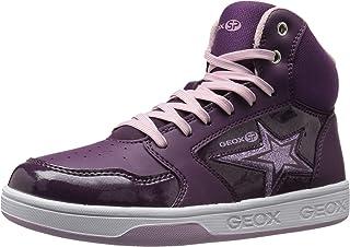 Geox 儿童 Maltin Girl 13 高帮运动鞋