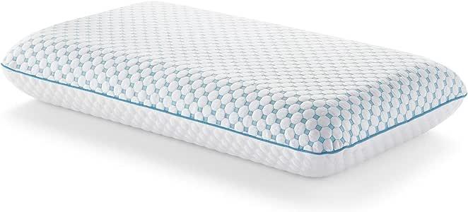 Weekender 透气凝胶*泡沫枕头,带双面冷却罩 - 双面,舒适四季 - 可水洗 白色 Queen WKQQPE30GF
