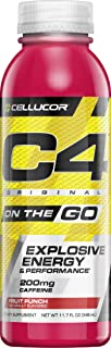 C4,爆炸能量的运动前补充,果汁宾汁,10盎司,12计数