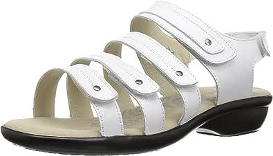 Propet 女式 AURORA 凉鞋 白色 6.5 2E US