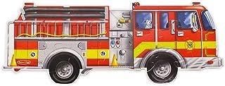 Melissa & Doug 消防车大拼图地板拼图(24 片,121 厘米长)