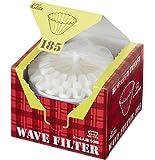 Kalita  Wave Filter 咖啡过滤纸 KWF 白色 2~4人用