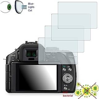 4x Disagu 透明屏幕保护膜 适用于松下 Lumix DMC-G5 - *蓝光滤光保护膜