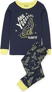 Hatley 男童有机棉长袖连体睡衣套装