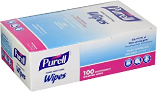 Purell 9022-10 消毒手巾,单独包装(100 包)