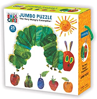 Mudpuppy Eric Carle The Very Hungry Caterpillar and Friends 磁性角色套装 Jumbo Puzzle 多种颜色
