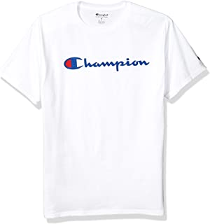 Champion 男士经典图案球衣T恤