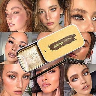眉毛肥皂套装,眉毛造型肥皂,自然眉毛的凝胶造型润发,持久防水防晕染,3D 羽毛眉膏
