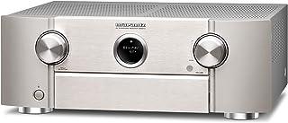 Marantz 马兰士 SR6014 9.2声道AV接收器 Hifi功放,兼容Alexa,8个HDMI输入和2个输出,蓝牙和WLAN,音乐流,杜比全景声(Dolby Atmos),AirPlay 2,HEOS Multiroom,银色