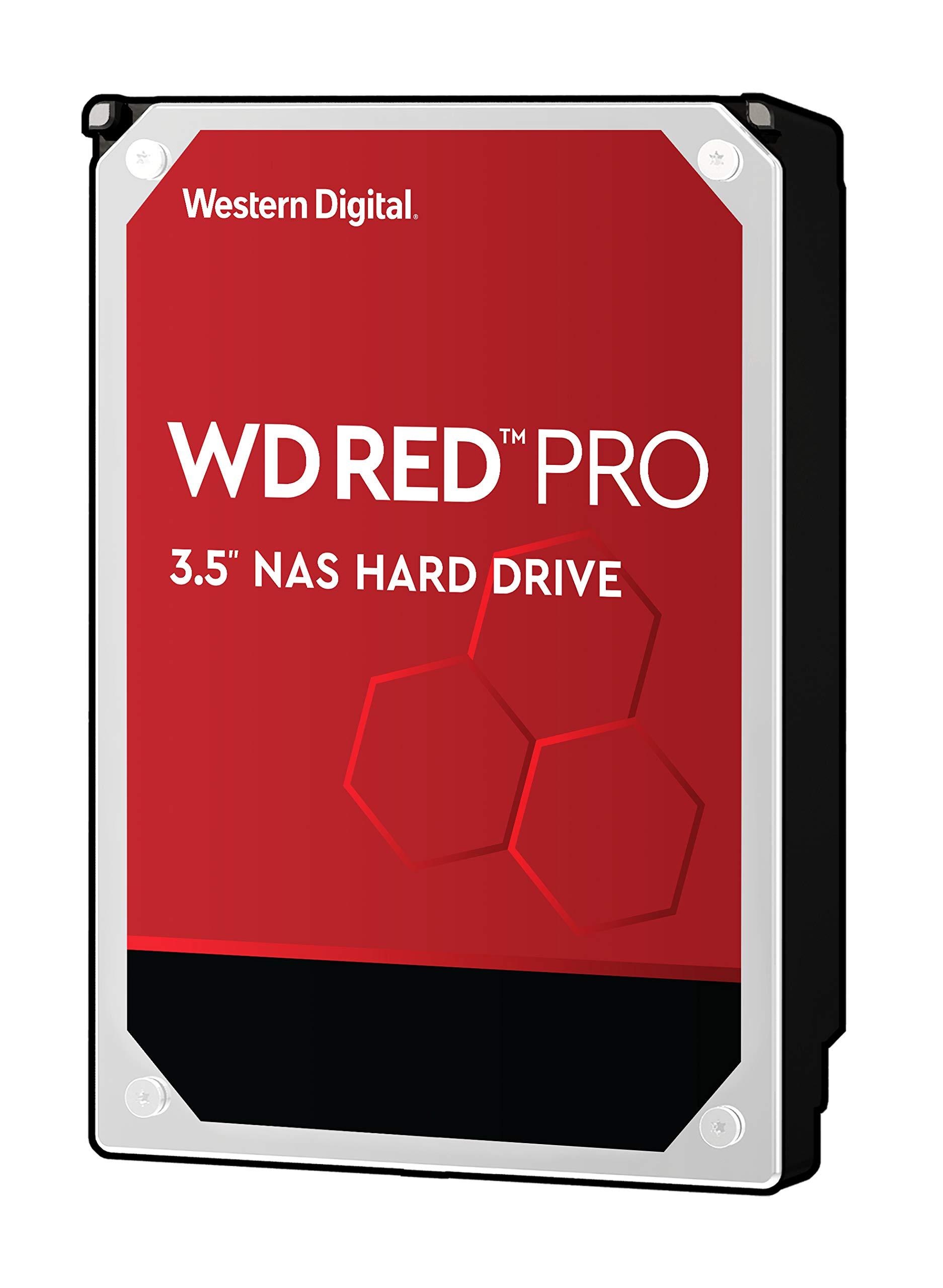 Western DigitalのWDレッドプロ10TB NASの内蔵ハード-7200 RPMレベル、SATA 6 Gb /秒、256 MBのキャッシュ、3.5インチ - WD101KFBX