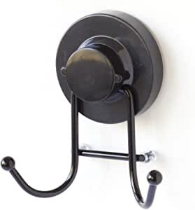 Gelco 709393 环氧树脂金属吸附挂钩,配2个头/ABS 7 x 11 x 15.5厘米,黑色