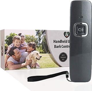 GREEN BREATHE ECO Bye Barx 防吠设备 | 超声波狗吠威慑器 适用于小型或大型犬 | 狗狗训练辅助器 | 超远控制范围 | 无吠叫设备
