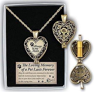 大教堂艺术宠物纪念毛圈锁盒-心形-银色金银丝 镀金 Gold-Plated AL103G