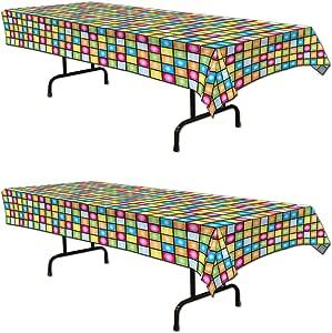 Beistle Disco 桌布 多种颜色 S57923AZ2