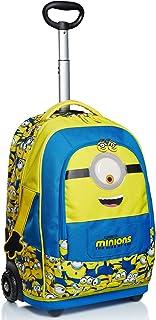 Big Trollley 小黄人,起重机的崛起,黄色和蓝色,肩带使用背包,学校和旅行