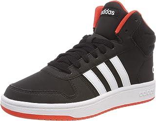 adidas 阿迪达斯 中性 儿童 Hoops Mid 2.0 K 塑身鞋