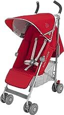 英国Maclaren 玛格罗兰 Quest 婴童推车伞车 红/银色 17款 英国品牌 [跨境自营]包邮包税