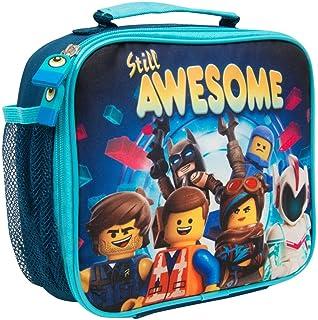LEGO 幼儿园饭盒电影2 蝙蝠侠带袋饮料便当饭盒