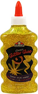elmer's ' s 可水洗经典闪光胶,6盎司瓶