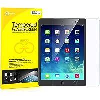 美国 JETech 苹果新iPad (9.7英寸, 2018/2017), iPad Air 2, iPad Air, iPad Pro 9.7钢化膜 贴膜 玻璃膜 高清防划保护膜 带摄像孔切口