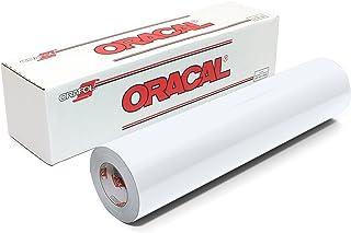 卷 OF oracal 651哑光白色乙烯基适用于工艺 cutters 和乙烯基标志 cutters