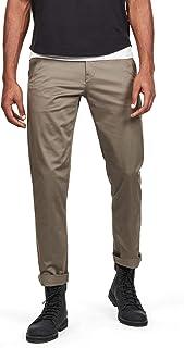 G-STAR RAW 男式 Bronson 修身斜纹棉布长裤 Grey (Grey) 34W / 30L