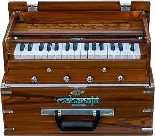 Maharaja Musicals Kirtan 口琴,便携式室内版本,自然色,*新型号 KH2