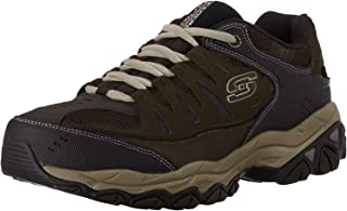 Skechers 斯凯奇 Sport 男士 Afterburn Memory Foam Lace-Up 运动鞋
