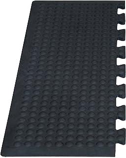Miltex 17030 脚垫瑜伽弹性工业,外层 - 一包/2 件,80 x 30 厘米,黑色