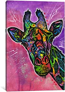 "iCanvasART 1 Piece Giraffe Canvas Print by Dean Russo, 40 by 26""/1.5"" Deep"