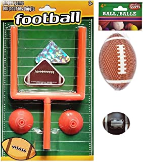 足球主题游戏和活动套装,适合儿童   桌面手指滑冰游戏,泡沫足球和 Hacky Sack