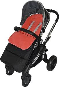 脚垫/脚趾与 iCandy 草莓推椅兼容 火红色
