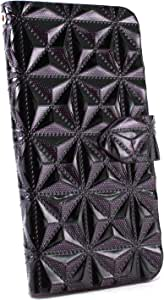 whitenuts 保护壳 手册式 3D钻石WN-OD254002 2_ Xperia Z5 Premium SO-03H 紫色